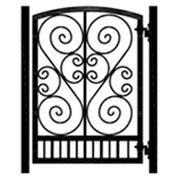 Iron gate design for Barrett's Dog room....