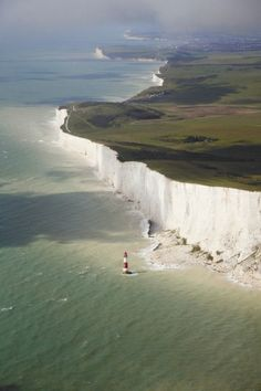 Beachy Head Cliffs. East Sussex, ENGLAND