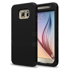 S6 Case, Galaxy S6 Case, VAKOO [Armor Series] Heavy Duty Samsung Galaxy S6 Case High Impact Hybrid Protective Case 2-Layer Full-body Rugged Armor Cover for Galaxy S6 , Dual Layer Design + Impact Resistant Bumper-Dual Hard External Shell and Soft Internal Silicone Protection Inlay (Black) Vakoo http://www.amazon.com/dp/B00VLYE4AG/ref=cm_sw_r_pi_dp_TLzpvb11M7Q7S