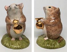 "Gold Pitcher- Beswick Beatrix Potter ""Timmy Willie Fetching Milk"" Figurine  | eBay"