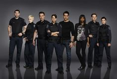 The cast of 'Rookie Blue' season 5.