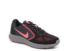 Nike Revolution 3 Lightweight Running Shoe - Womens