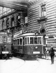Ilyen is volt Budapest - Teréz körút Old Pictures, Old Photos, Rail Europe, Light Rail, Budapest Hungary, Vintage Photography, Historical Photos, Marvel, Black And White