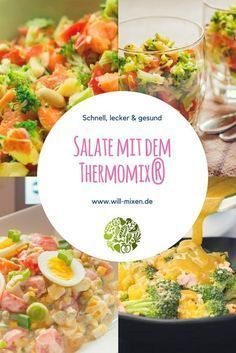 Entdecke die leckersten Thermomix Salate bei will-mixen.de Entdecke die leckersten Thermomix Salate bei will-mixen.de The post Entdecke die leckersten Thermomix Salate bei will-mixen.de appeared first on Fingerfood Rezepte. Healthy Dinner Recipes, Vegetarian Recipes, Clean Eating, Healthy Eating, Eating Plans, Crockpot Recipes, Salad Recipes, Food And Drink, Tasty