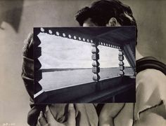 John Stezaker - You two-timed me one time too often - but does it float