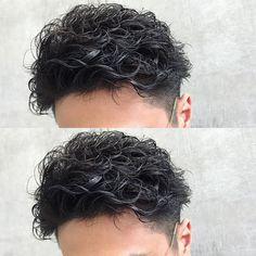 Haircuts For Wavy Hair, Permed Hairstyles, Haircuts For Men, Perm Hair Men, Men Perm, Japanese Men Hairstyle, Queer Hair, Hair Setting, Asian Hair