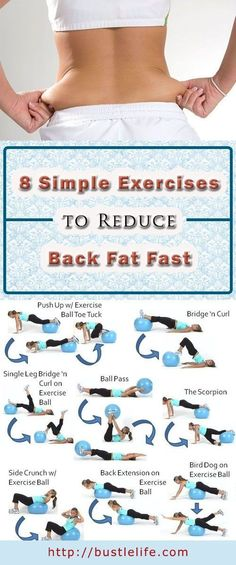 Source Link: 8 Simple Exercises to Reduce Back Fat