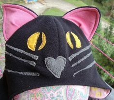 If you can sew a straight line and enjoy working with fleece this Black Cat Kids Halloween PDF sewing pattern from Serger Pepper is for you. For Halloween as part of a costume or everyday for fun, ...