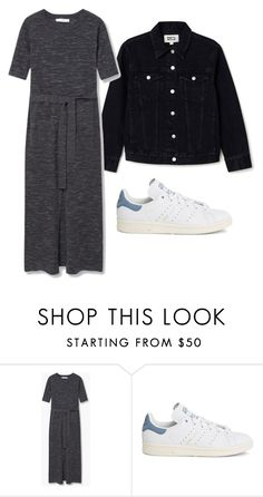 """Untitled #180"" by alexmlenek on Polyvore featuring MANGO and adidas"