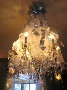 Chandelier above dinning room table.  Christmas Decorations James Phillips. Twinkle Lights, Twinkle Twinkle, First Christmas, Christmas Tree, Dinning Room Tables, Christmas Decorations, Chandelier, Ceiling Lights, Crystals