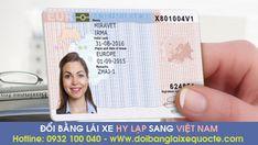 Đổi bằng lái xe Hy Lạp sang bằng Việt Nam