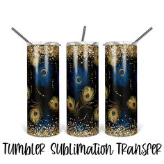Download Digital, Free Silhouette Designs, Blue Gold, Pillar Candles, Heat Transfer, Tumbler With Straw, Gold Glitter, Valentines Day Hearts, Tumblers