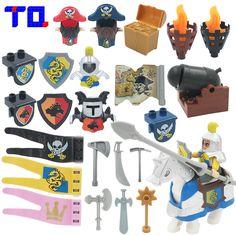 TQ Войны Пират Принцесса Военного Оружия Рыцарь Крупные Частицы Строительные Блоки Детские Игрушки Brinquedo Совместимость с Legoe Duplo #women, #men, #hats, #watches, #belts