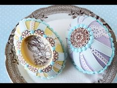 Video Release: How to Make Cast Sugar Easter Eggs with Fondant Appliqués by Julia M Usher of Recipes for a Sweet Life