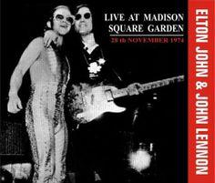 john lennon madison square garden 1974   Elton John & John Lennon - Live At Madison Square Garden (1974 ...