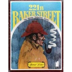 221 B Baker Street The Master Detective Game 2-6 players