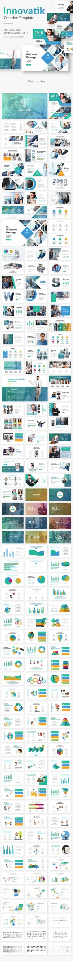Innovatik Business #Premium #Powerpoint Template - Business PowerPoint Templates