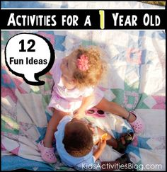 A Dozen Different Activities to engage your one year old. they have activities for all age groups! Activities For 1 Year Olds, Infant Activities, Preschool Activities, Infant Sensory, Baby Sensory, Sensory Bins, Toddler Play, Baby Play, Baby Kids