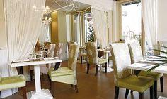 chic and intimate Medzo restaurant in Dubai