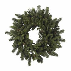 Real Looking 30 Pine  Pinecone Wreath  Holiday  Silk Wreath *** This is an Amazon Affiliate link. Want additional info? Click on the image.