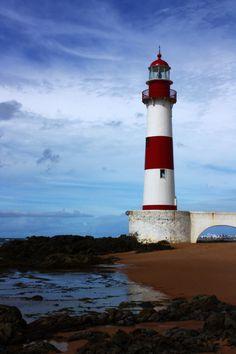Itapuã Lighthouse, Salvador, Brazil http://www.liberatingdivineconsciousness.com