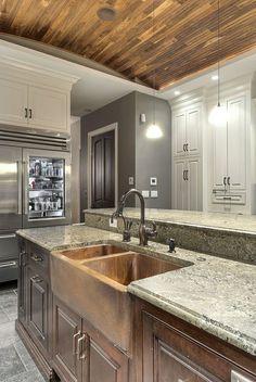 Handmade Custom Kitchen Lincoln Park by Best Custom Furniture & Millwork | CustomMade.com