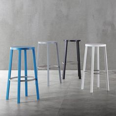 Japanese industrial designer Naoto Fukasawa will launch a stackable wooden stool with a stainless steel footrest for Italian manufacturer Plank in Milan next week.