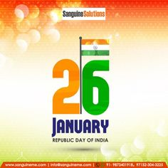 We all at Team #Sanguine wish you all a Very Happy Republc Day