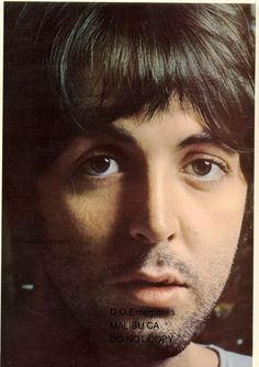 "Beatles photo 8x11"" PAUL McCartney from England to you"