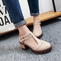 """721 Likes, 6 Comments - YesStyle.com (@yesstyle) on Instagram: """"👡Cuz we understand girls never get enough shoes . 👑50% off flah deal: Pastel Pairs - T-Strapped…"""""""
