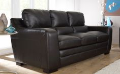 Denver Brown Leather Sofas At Furniture Choice