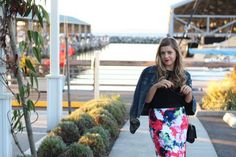 How to wear floral pattern in fall featuring Milly for Design Nation