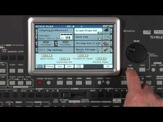 Korg PA900: Sounds - YouTube