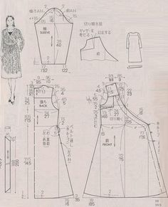 Best 12 Tips To Make Arts And Crafts More Fun — Read more info by clicking the link on the image. Japanese Sewing Patterns, Sewing Patterns Free, Clothing Patterns, Sewing Clothes, Diy Clothes, Gown Pattern, Make Your Own Clothes, Diy Couture, Pattern Cutting