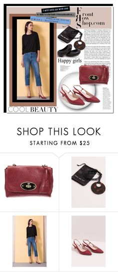 """""""FrontRowShop.com"""" by rosie305 ❤ liked on Polyvore featuring Mulberry, Front Row Shop and frontrowshop"""