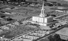 Looking back on the rich history of the Jordan River Temple