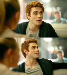 Okay I can see why Betty Cooper and Veronica Roth both fell head-over-heels for Archie Andrews!
