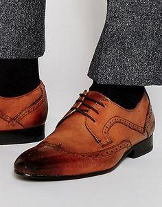 Ted Baker | Ted Baker - Oakke - Chaussures derby style richelieu en cuir