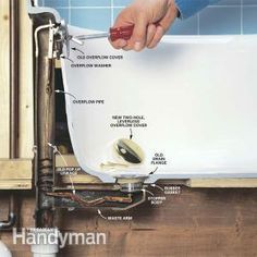 How To Convert Bathtub Drain Lever To A Lift And Turn .