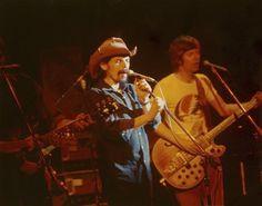 """The Grateful Dead 1971, Ron """"Pigpen"""" McKernan and Phil Lesh"""
