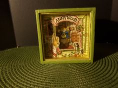 Vintage  Sankyo Anny Wood Music Box C-904 by doyourememberwhen
