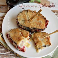Melanzane pullastiello ricetta napoletana Melanzane PULLASTIELLO ricetta napoletana da realizzare una volta all'anno ... hanno un sapore unico ma sono troppo caloriche ;)