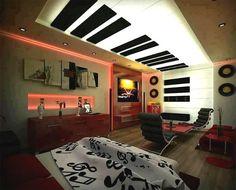 decoraciones musicales cuartos - Buscar con Google