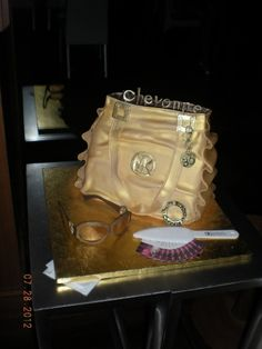 Michael Kors Bag Cake By ggsbabycakes