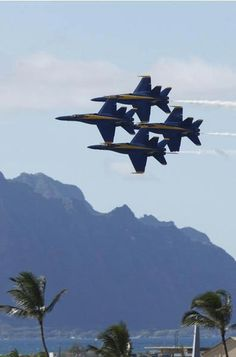 BLUE ANGELS IN HAWAII