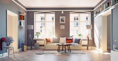 Glücklich wohnen: 5 Dinge für wohliges Zuhause! #News #Wohnen