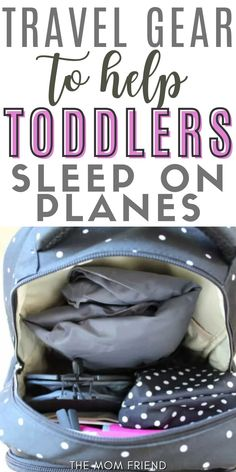 This is the MUST-HAVE travel gear for traveling with toddlers an a plane. Use these tips to keep your child entertained and help them sleep on an airplane for short or long flights. This is the absolute BEST travel gear for kids! #travel #travelwithkids #travelingwithkids #traveling #toddler #kids #baby #babies #momhacks #momtips #momlife #airplanehacks #airplanetips Toddler Sleep, Toddler Travel, Travel With Kids, Flying With A Baby, Plastic Grocery Bags, Long Flights, Travel Items, Diaper Bag Backpack, Friends Mom