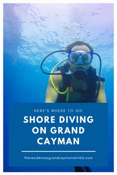 With so many dive sites that are easily accessible by shore diving in Grand Cayman, it's the perfect alternative to the typical boat dives. What Lies Beneath, Grand Cayman, Underwater World, Cayman Islands, Adventure Awaits, Where To Go, Diving, Boat, Activities