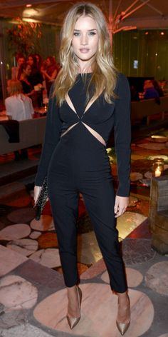 Look of the Day: September 15, 2013 - Rosie Huntington-Whiteley : InStyle.com