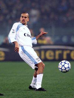Lazio Juan Sebastián Verón Attacking midfielder 1999-2001 Large photo